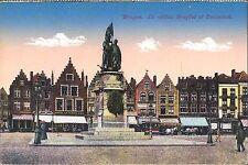 AK - CPA - Bruges - La statue Breydel et Deconinck  Editeur Jules Nahrath & Cie.