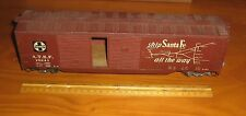 Vintage O Scale/Gauge,Long Freight/Box Car,Wood-Steel Scratch-Built Kit,ATSF,13""