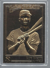 Roy White 2003 Danbury Mint Yankee Greats Sealed 22 kt Gold Card-100 Years