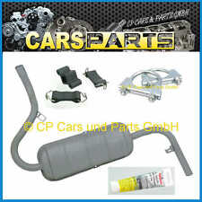 Rear Muffler / Back Exhaust - With Mounting Kit - LADA Niva 1600 / 2121
