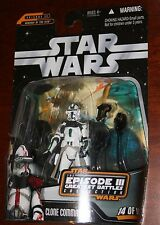 Clone Commander green trim Star Wars Revenge of the Sith stormtrooper clone