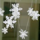 Xmas Snowflake Garland Flag Home Decor Christmas Party Decoration New Beauty