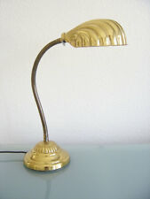 Rare Mid Century Modern TABLE LIGHT Desk Lamp LEAF Art Nouevo TOMMASO BARBI Era
