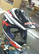 KBC TK-X Helmet Motorcycle Motocross Dirt Bike Size SM