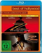 DIE MASKE DES ZORRO + DIE LEGENDE DES ZORRO (Antonio Banderas) 2 Blu-ray Discs