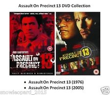 THE ASSAULT ON PRECINCT 13 DVD 1976 / 2005 John Carpenter 2 Movie Film Sealed