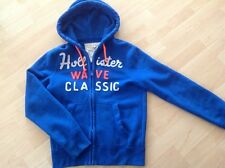 Hollister Weste, Sweatweste, Sweatjacke blau in Gr. S