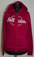 WOMENS HOLLISTER ZIP HOODY SIZE M L ( LABEL L) VGC