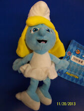 "The Smurfs 2 Movie Smurf Gift Collectible Stuffed Toy 8"" Plush Doll - Smurfette"