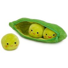 TOY STORY 3 DISNEY STORE MINI BEAN PLUSH PEAS IN A POD NWT