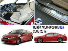 Honda Accord Coupe USA 2008- Stainless Steel Door Sill Covers Scuff Protectors