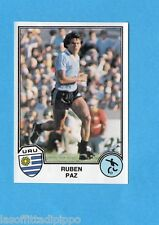 SPORT SUPERSTARS/EURO FOOTBALL 82-PANINI-Figurina n.236- PAZ - URUGUAY -Rec