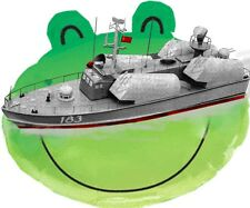 """Model Boat Plans Scale Russian OSA 30""""  Radio Control Fires Missile Plan & Notes"""