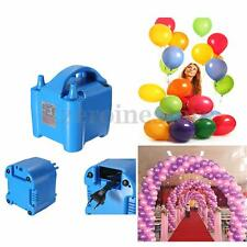 680W Electric High Speed Ballon Inflator Air Pump 2 Nozzle Balloon Pump Portable