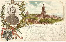 Gruss vom Kyffhäuser, Kaiser Wilhelm Denkmal & Wilhelm II. Deutscher Kaiser