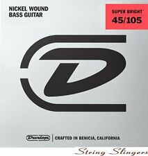 Dunlop Super Bright Nickel 4-string Bass strings 45-105, DBSBN45105