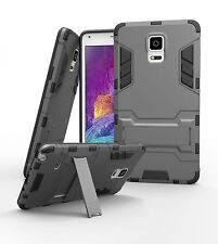 Luxury Armor Bumper Case For Samsung GALAXY Note 4 [Fits OtterBox & Spigen Clip]