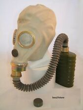 NEW  GAS MASK WITH BAG SEALED FILTER AND HOSE  EXCELLENT CONDITION