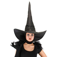 Deluxe Wicked Witch Black  Hat Oz Adult Halloween Costume Accessory