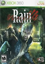 XBOX 360 Vampire Rain Video Game action adventure fps shooter online COMPLETE