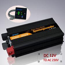 2500W / 5000W DC 12V To AC 240V Pure Sine Wave Power Inverter Converter Remote