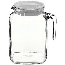 Pitcher Beverage Serveware Glass Jug Container Water Milk Bottle Lemonade 68 Oz