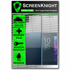 ScreenKnight Sony Xperia XZ FULL BODY SCREEN PROTECTOR - military shield
