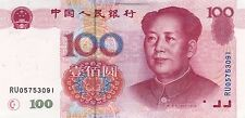 CHINA 100 Yuan (1999) 1st Issue Unc / Mao / GUARANTEED DELIVERY