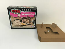 replacement vintage star wars esb palitoy snowspeeder pink box + inserts