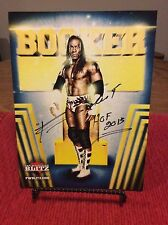 WWF/WWE Wrestling Booker T Autographed Picture! 2013 WWE Hall Of Fame!!!