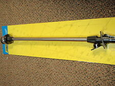 """LED POLE LIGHT ANCHOR ALL-AROUND NAVIGATION 02931 STAINLESS 48"""" WITH BLACK BASE"""