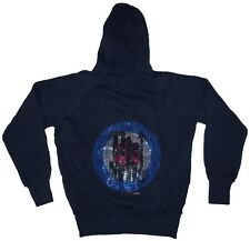 AMPLIFIED Official THE WHO Strass Target Hoodie Kapuze Sweat Shirt Jacke M 50/52