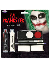 Halloween Make-up Artist Latex Bloody Set Evil Prankster Joker Fancy Dress New