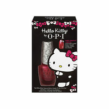 OPI HELLO KITTY Special Edition Nail Polish + FREE Crystal Charm Bows.5oz DDH03