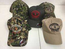 Lot of 5 - Men's assorted Cleco Corp hats caps adjustable & fitted Camo Nike