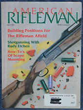 Vintage Magazine American Rifleman, JULY 1990 !!ANTONIO ZOLI Model 1900 RIFLE!!