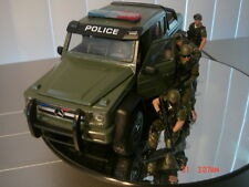 1/24 police state trooper highway patrol fire diorama 6X6 Benz sheriff SWAT