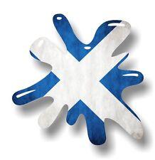 Retro Alte Schule SPRITZER & Schottland Schottische Andreaskreuz Flagge