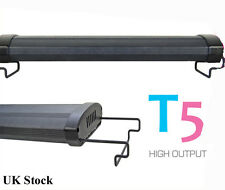 "T5 Aquarium 48"" Fish Tank Overhead Lighting Two Tube System 120cm 140cm"