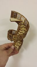 1:24 scale spiral stairs version 1 closed handrails