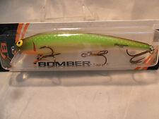 "Bomber Long ""A"" Jade Minnow New In Package 15A Game Fish Bait #2"