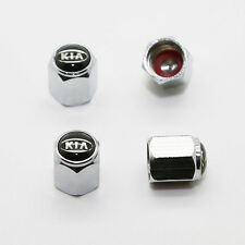 4PCS Fit For KIA All Model Car Emblem Tire Wheel Valve Stem Caps