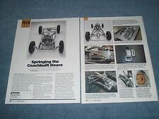 How-to Tech Info Article Dual Quarter-Elliptical Springs for Hot Rods Article