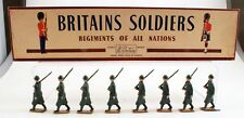 W Britains Set 1435 Italian Infantry With Original Box
