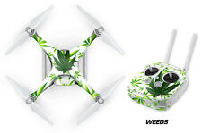 DJI Phantom 4 Drone Wrap RC Quadcopter Decal Sticker Custom Skin Accessory WEEDS