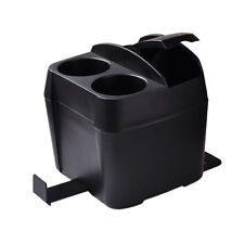 Hot Car Cup Holder Drink Bottle Can Trash Dustbin Tissue Clip Black Universal 1x