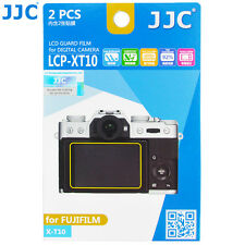 JJC LCD Guard Film Camera Screen Protector for Fujiflim Finepix X-T10 Fuji XT10