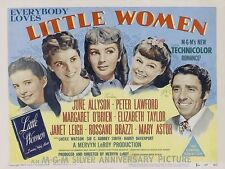POSTER LITTLE WOMEN PICCOLE DONNE CRESCONO VINTAGE #1