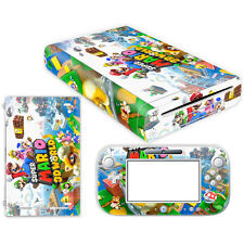 Princess Skin Sticker for Nintendo Wii U Console Controller 054 Mario Cover
