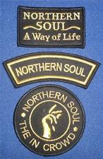 NORTHERN SOUL PATCH - 3 PATCH SET - SET 6